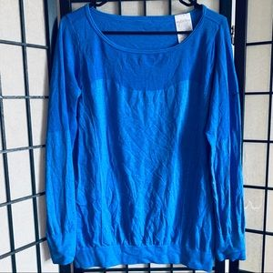 Nike Dri Fit knit epic crew long sleeve shirt L